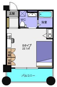 ミールズ新大阪 単身赴任の家具付き賃貸