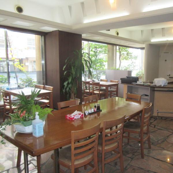 1階食堂完備
